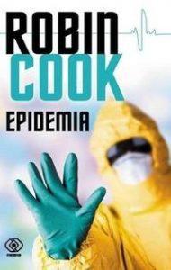 "Okładka książki ""Epidemia"" Roberta Cooka"